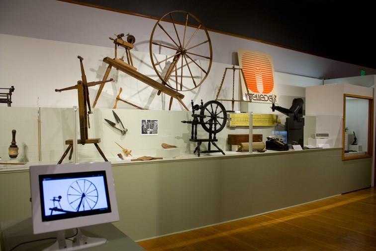 Museum Kiosk in Use