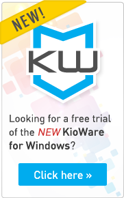 Get free trial of New KioWare for Windows