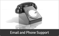 Email and Phone Support