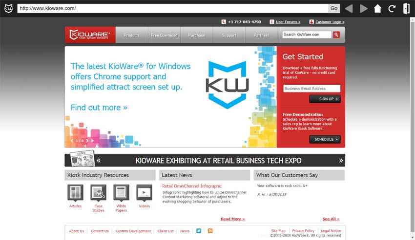 kioware full for windows user interface